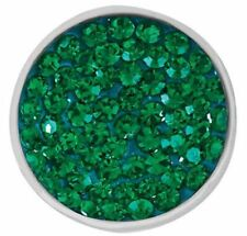 """Ginger Snaps Jewelry """"Sugar Snap Emerald"""" SN32-09 Buy 4 Get One $6.95 Snap Free"""