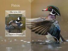 St Thomas - 2019 Ducks on Stamps - Stamp Souvenir Sheet - ST190312b
