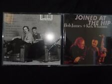 CD BOB JAMES + KIRK WHALUM / JOINED AT THE HIP /