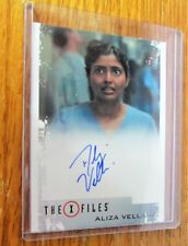 X-Files Seasons 10 & 11 Aliza Vellani as Nurse Sandeep Autographed Card