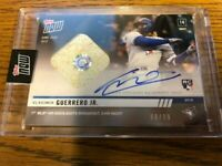 2019 TOPPS NOW VLADIMIR GUERRERO JR BLUE JAYS ROOKIE AUTO RELIC CARD #229A 68/99