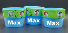 Brand New Disney Toy Story Personalised Blue Planter Pots Garden Set Of 3