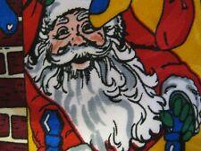 Company B Christmas Xmas Tie Necktie SANTA 55 x 3 multicolor 13854