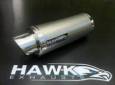 Kawasaki ZX7R 1996 - 2003 Hawk GP Plain Titanium Race Exhaust Silencer Can