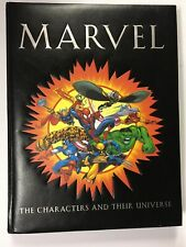 Marvel The Characters And Their Universe Coffee Table Book Hc 2002