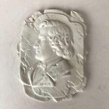 Chopin Small Ceramic Plaque In White