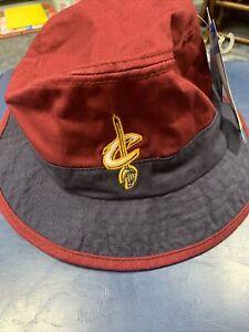 Cleveland Cavaliers NBA Floppy Cap Hat Cavs Adidas Lebron James Adult L / XL