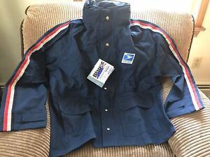 USPS All Weather Blauer Gortex Jacket Roll Hood Style 9242 w/Tags
