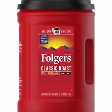 Folgers Classic Medium Roast Ground Coffee 51 Oz Container 5 Pack