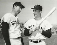 MLB Baseball Red Sox Carl Yastrzemski Yaz and Ted Williams Photo Picture