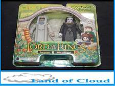 Lord of the Rings minimates Saruman & Wormtongue set - new & boxed - FAST FREE