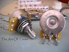 CTS 300K Pot (METER LOW - 260K - 280K) Short Split Shaft - Audio Taper