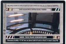 Star Wars CCG Reflections III 3 Premium Naboo : Theed Palace Generator Core DS