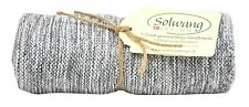 Handtuch, Küchentuch gestrickt / grau meliert H98 Solwang Design DK