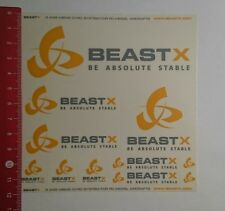 Pegatina/sticker: Beast X be stable absoluta (131116127)