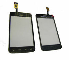 LG Optimus L4 II Dual E445 Touch Screen Digitizer Front Panel Repair Part Black