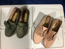 Green Bow Sexy Platform Sneakers