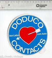 Decal/Sticker - Doduco Contacts Aus Liebe zum Auto