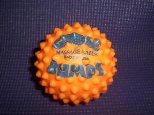 "Vintage 1990 GOOSEBUMPS Goose Bumps Massage Ball Sensory Stimulation 3.5"""
