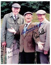 More details for last of the summer wine signed by norman wisdom, peter sallis and brian wilde