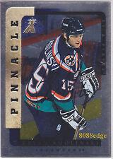 1996-97 BE A PLAYER AUTO SILVER:BRYAN SMOLINSKI #132 ON CARD AUTOGRAPH ISLANDERS
