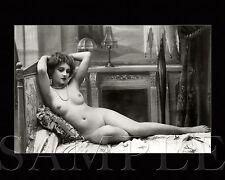 Vintage 1900s Pretty Nude Women Picture 8X10 Fine Art Print Photo Antique Old