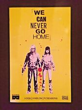 WE CAN NEVER GO HOME #1 COVER A NM 1ST PRINTING BLACK MASK