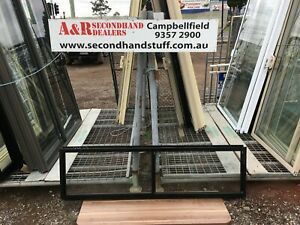 NEW Aluminium SLIDING WINDOWS 500h x 1800w (Approx Size) 5 COLOURS
