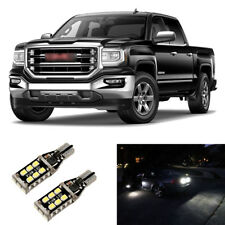 Total 1600LM White 921 LED Reverse Backup Light Bulbs For 2015-2018 GMC Sierra