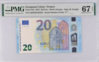 EURO 20 EURO France 2015 P 22 U Superb GEM UNC PMG 67 EPQ