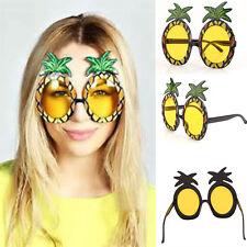 Womens Pineapple Sunglasses Eye Glasses For Beach Hawaii Hawaiian Costume Party
