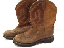Womens Ladies JUSTIN Gypsy Cowgirl Western Boots - 9B - Style # L9922