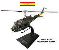 HELICOPTERO DE COMBATE BELL UH1 IROQUIOS (USA) 1:72 ALTAYA HELICOPTER EN BLISTER