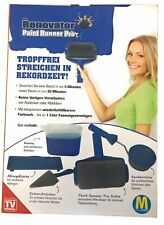 Renovator Paint Runner Pro Kantenroller Farbroller Lack Original von Mediashop