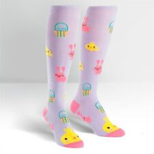 SOCK IT TO ME KNEE HIGH SOCKS - HOPPY EASTER