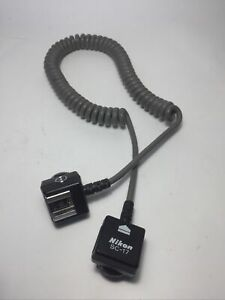 NIKON SC-17 TTL Sensor Remote Flash Extension Cord Tested N Works
