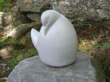 Dove Bird Statue, Contemporary Garden Decor, Concrete Figures And Statues, Art