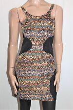 Rosebullet Brand Tribal Color Block Sleeveless Day Dress Size 12 BNWT #SC82