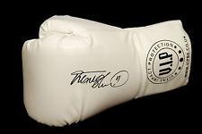 *Rare* Frank Bruno Hand Signed White Vip Boxing Glove