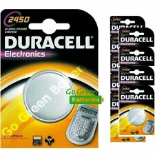Baterías desechables Duracell litio CR2450 para TV y Home Audio