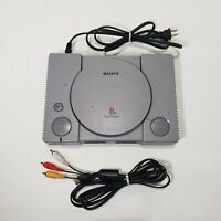 Sony Playstation 1 PS1 Video Game Console & Cables Mod# SCPH-9001