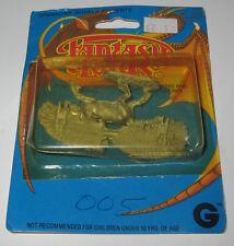 Grenadier Miniature Fantasy Lords Pegasus w Bombs 1982 Vintage D&D New in Card