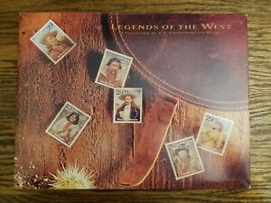 USPS Stamp Book - Legends of the West Item #8826   Free Shipping