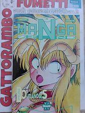 Manga Zine n.6 anno 1993 - Granata  Qs.edicola