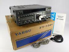 Yaesu FT-736R Ham Radio Transceiver w/ 1200MHz Module + FTS-8 (works great)