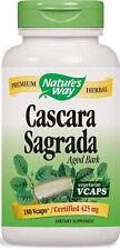 Cascara Sagrada Aged Bark - 180 VCaps - Nature's Way