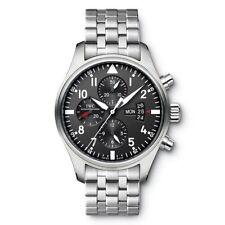 IWC Armbanduhren aus Edelstahl