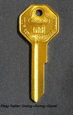 RARE NOS ORIGINAL PONTIAC KEY BLANK 1935-1966 H1098LA B10 GTO LEMANS CATALINA