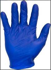 THE SAFETY ZONE BLUE 5 MIL LATEX GLOVES, 100 PCS, SIZE: XLARGE *FREE SHIPPING*