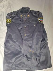 Russian Police Uniform Jacket